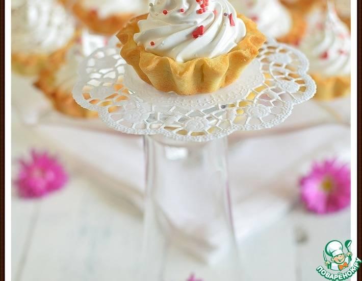 Пошаговый рецепт приготовления пирожного корзиночка