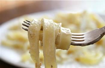 Макароны с сырным соусом - 10 пошаговых фото в рецепте