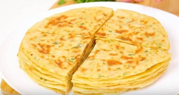 Лепешки с картофельной начинкой - пошаговый рецепт с фото на сайте банк поваров