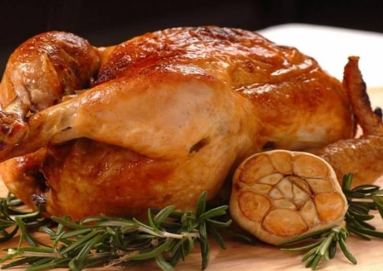 Как запечь курицу в рукаве с корочкой