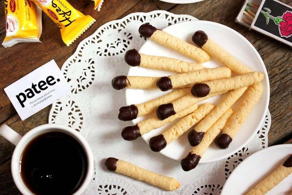 Печенье «спички»: рецепт и фото