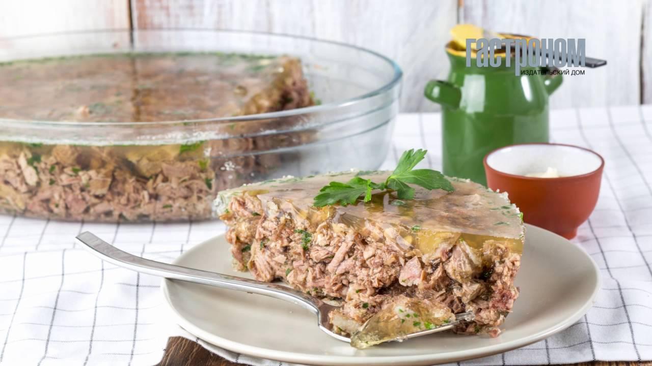 Холодец из курицы — пошаговые рецепты куриного холодца