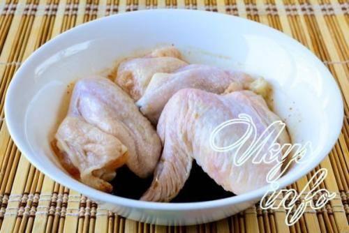 Куриные крылышки по-китайски