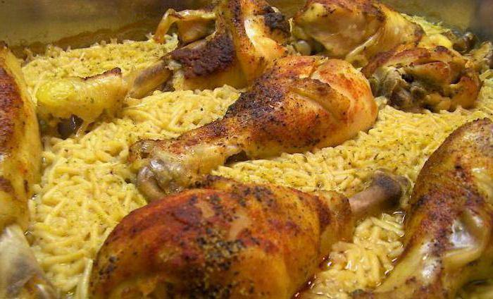 Куриные ножки с рисом: 7 замечательных рецептов |
