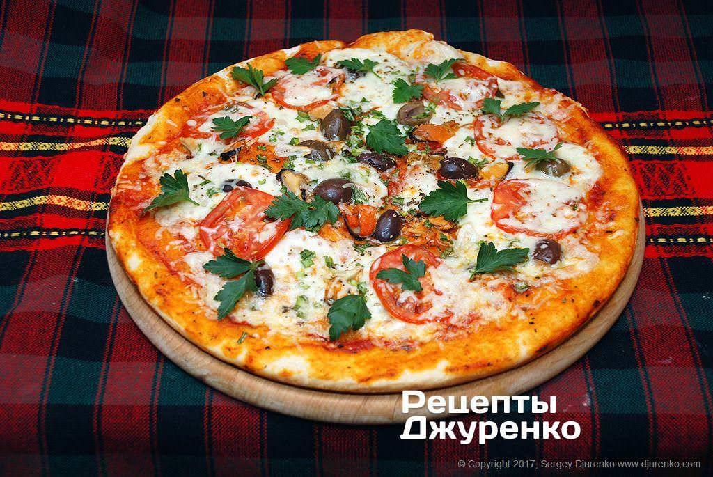 Пицца с мидиями — вкусная пицца с моллюсками и сыром - рецепты джуренко