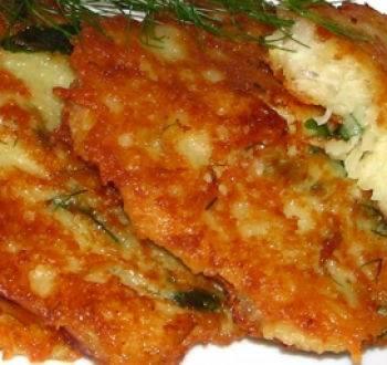 Рыбно-картофельные драники
