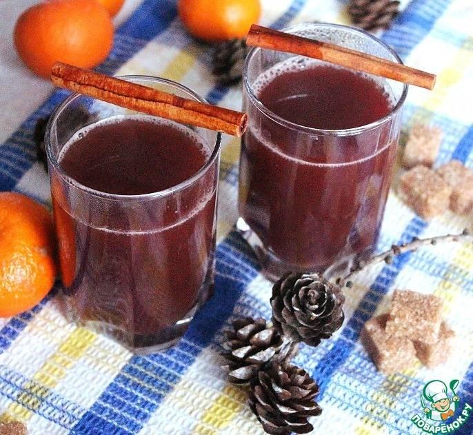 Глинтвейн рецепт приготовления с апельсином безалкогольный