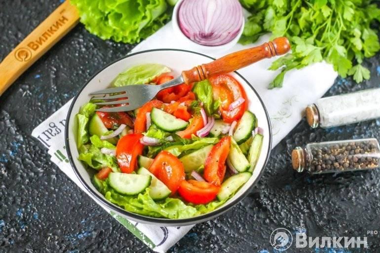 Салат овощной легкий