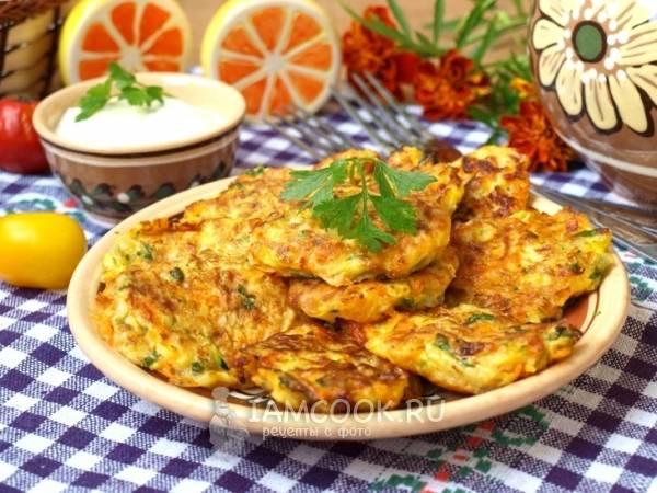 Драники из кабачков - пошаговый рецепт с фото, ингредиенты, как приготовить - hi-chef.ru