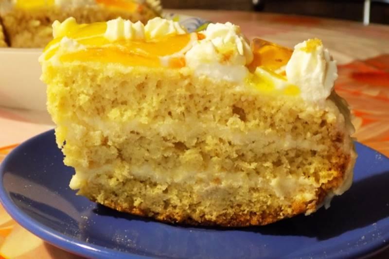 Бананово-апельсиновый десерт