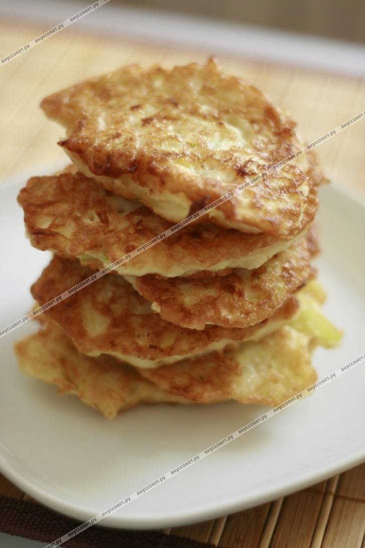 Драники из кабачка с сыром