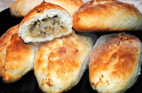 Рецепты выпечки с грибами: фото, как приготовить грибные пироги, пирожки, кулебяку и другие изделия
