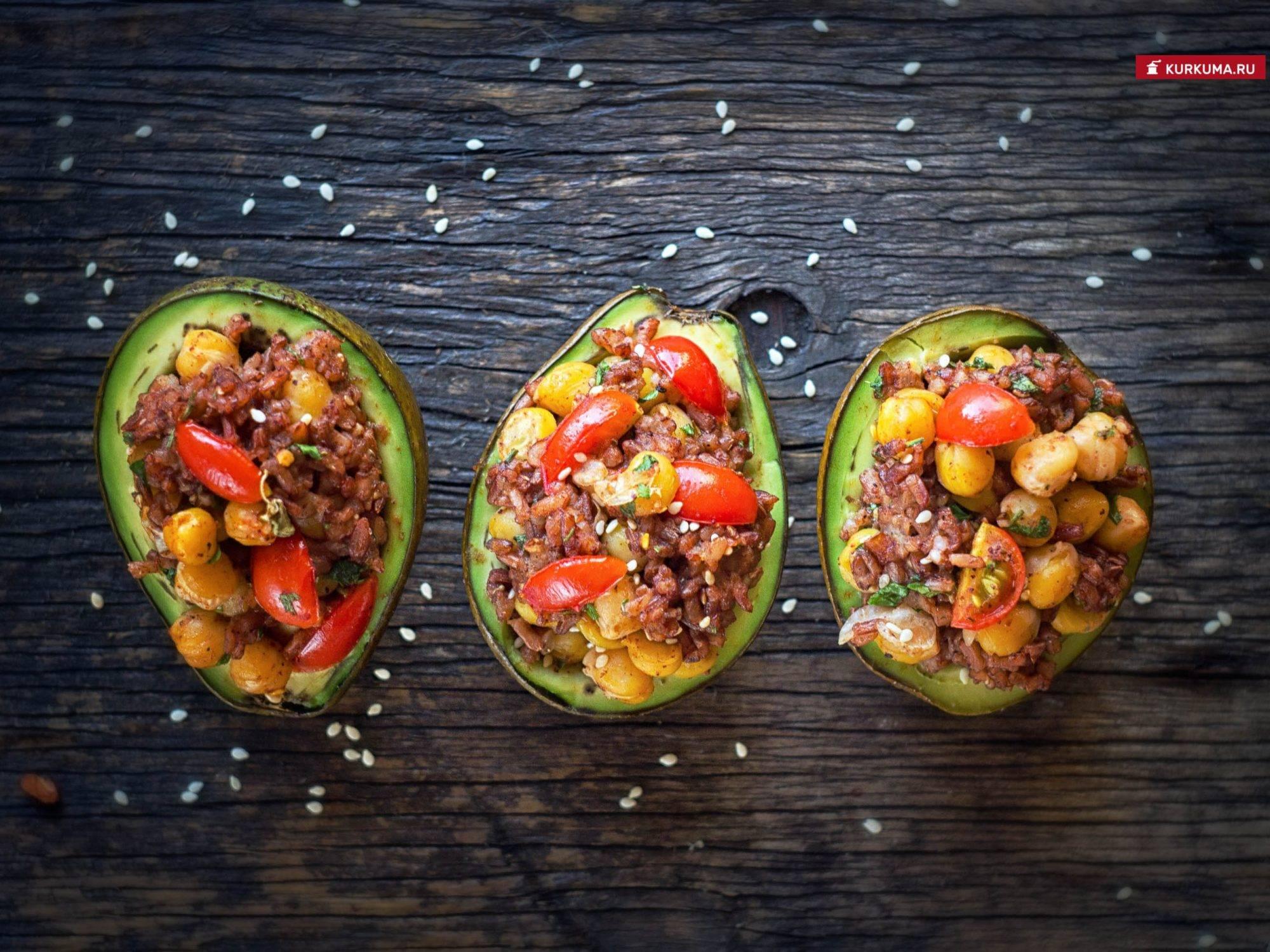 Авокадо - рецепты