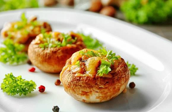 Фаршированные шампиньоны в духовке. 12 простых рецептов как приготовить вкусные грибы