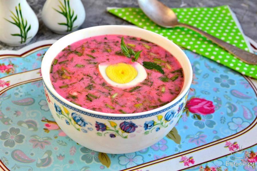 "Латышский холодный суп ""васара"""