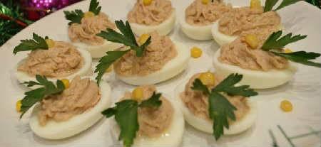 Фаршированные яйца и варианты начинок: 8 рецептов как фаршировать яйца