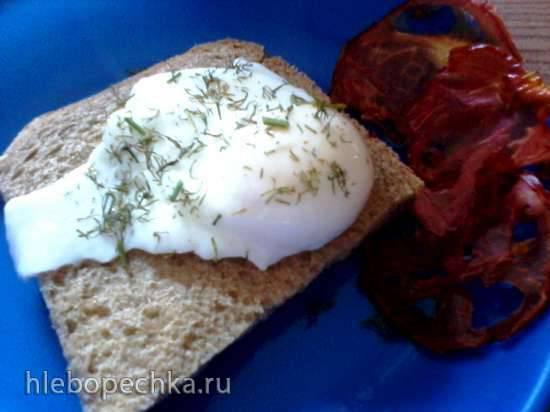 Яйцо а-ля пашот в микроволновой печи