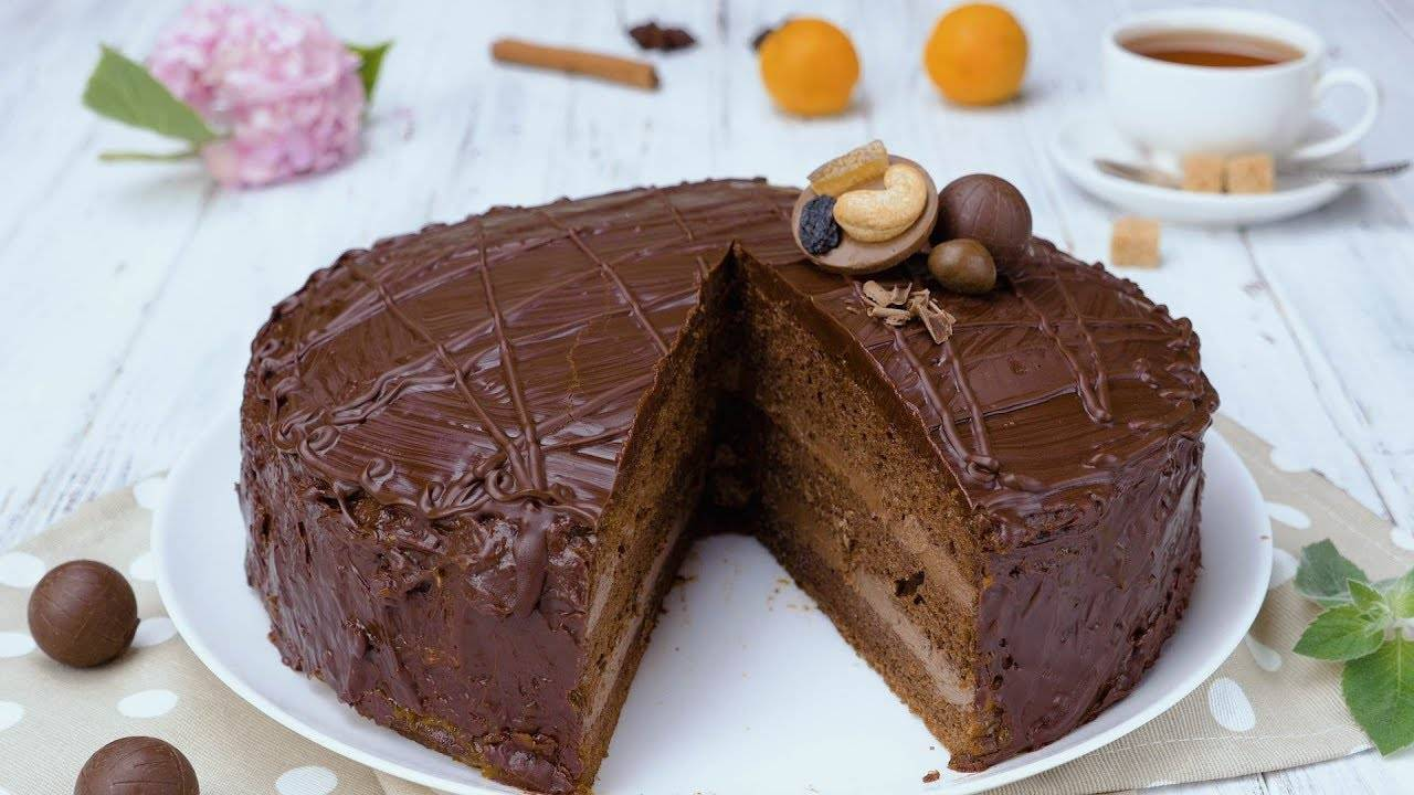 """Классический торт """"прага"""""""