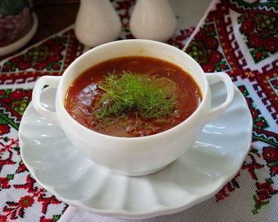 Быстрый постный суп с килькой