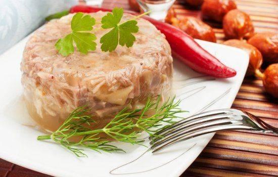 Холодец в мультиварке из свиной рульки и курицы: пошаговый рецепт | готовим в мультиварках