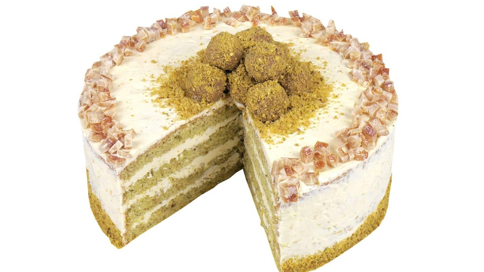 Бананово-яблочный торт