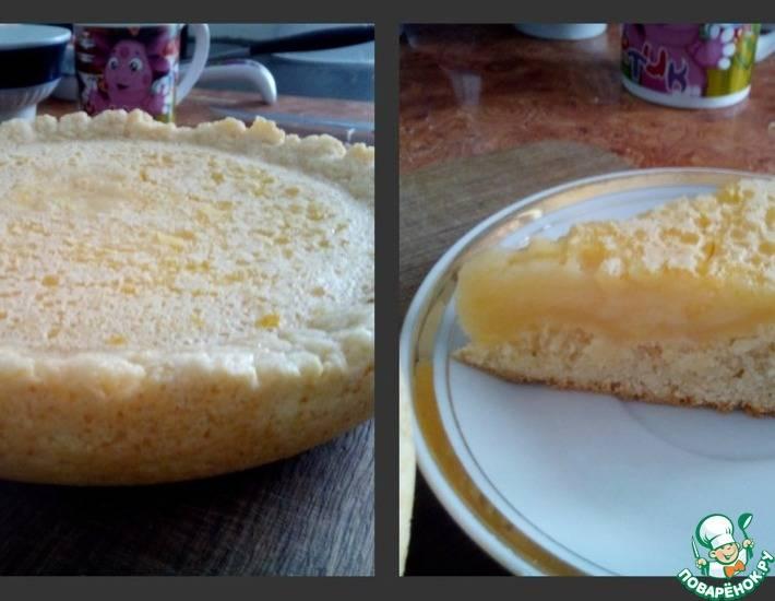Фруктово-лимонный  торт