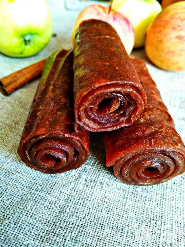 Пастила в домашних условиях из яблок: рецепт приготовления