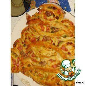 Рецепт пиццы елка пошагово с фото или готовим дома пиццу