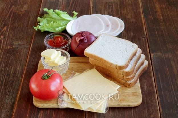 Постный чесночный хлеб с баклажанами