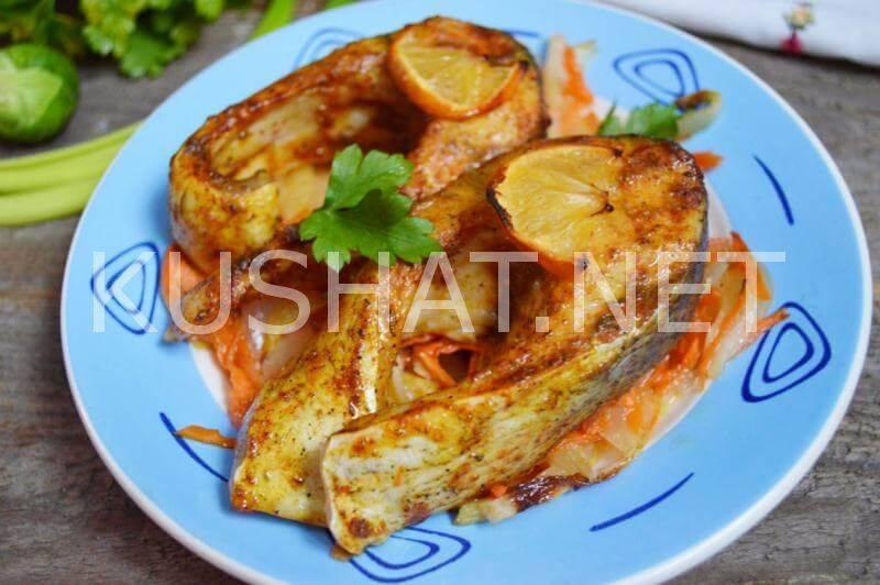 Рецепт приготовления толстолобика, запеченного в духовке