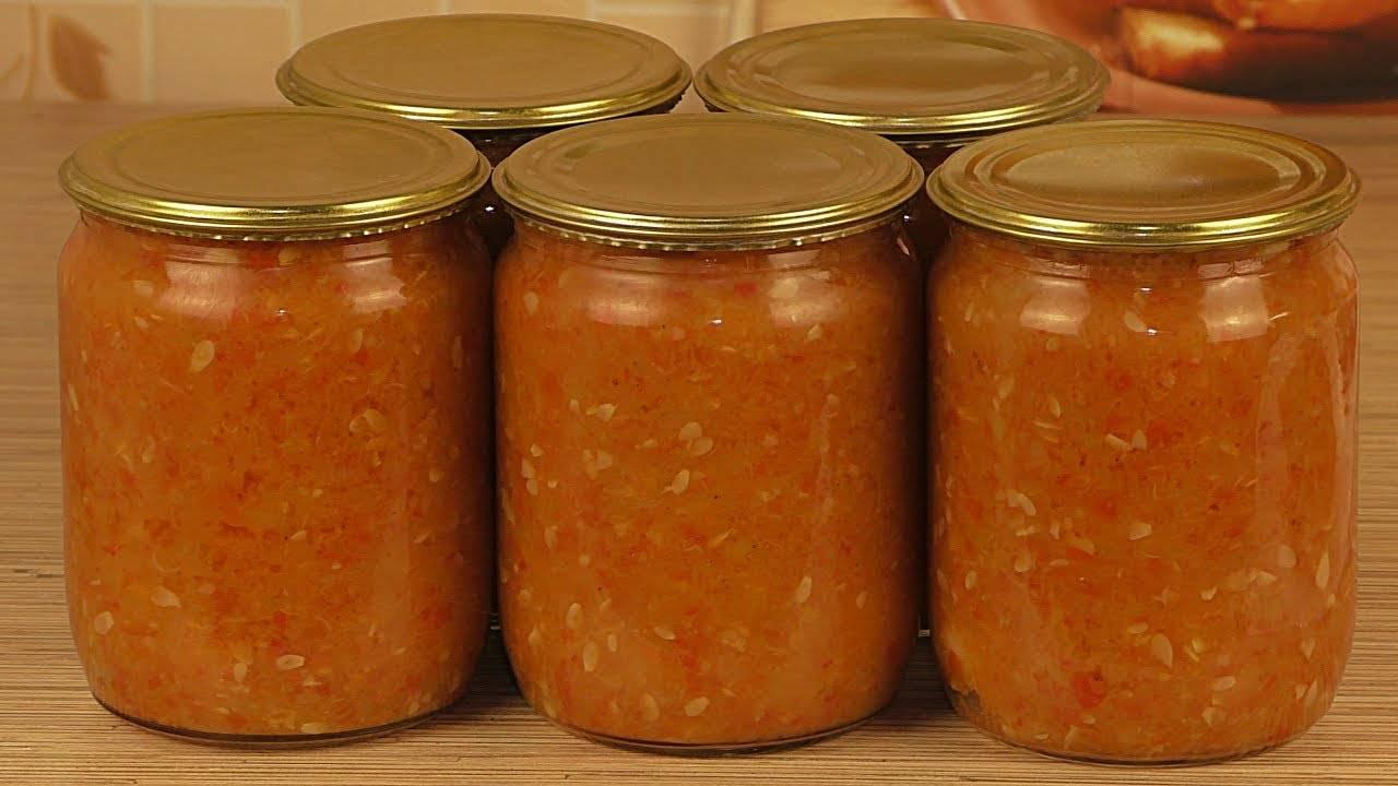 Аджика из кабачков на зиму: 10 рецептов на любой вкус