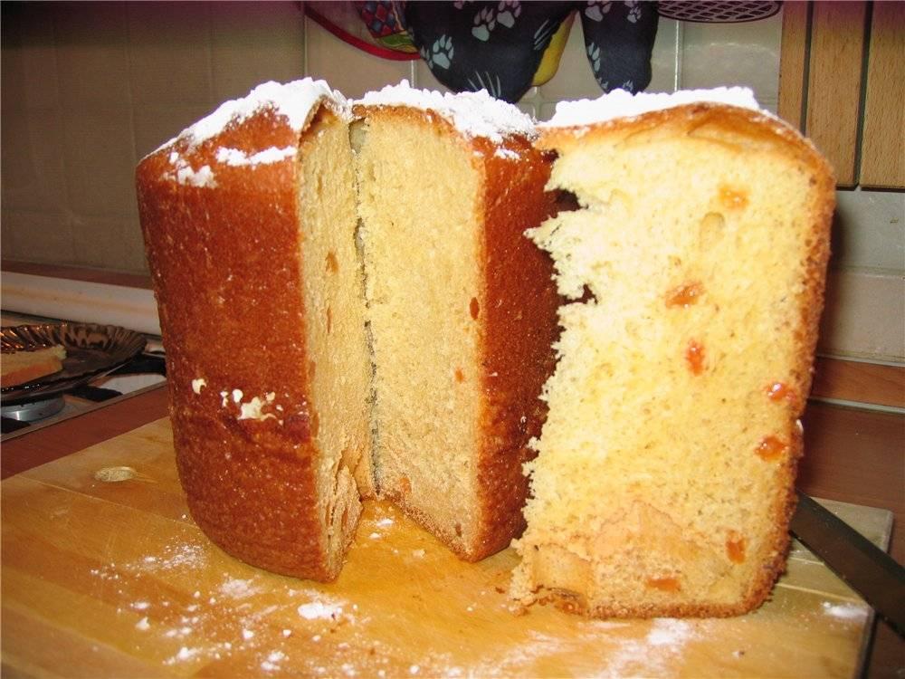 ️пасхальный кулич в хлебопечке рецепт с фото самый простой