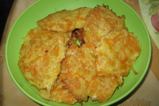 Горячая картофельная закуска