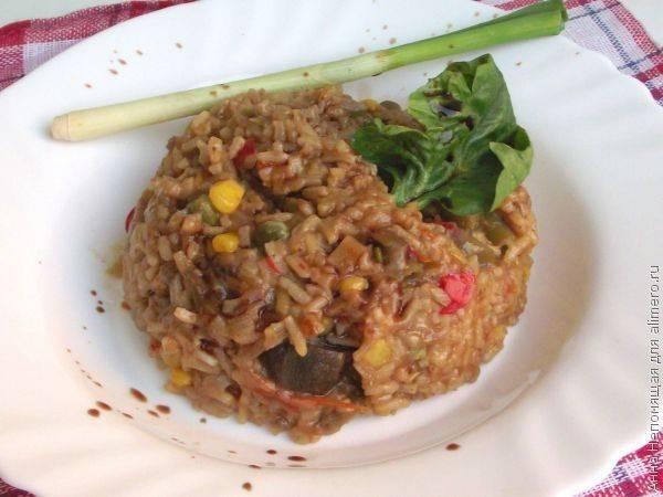 Индийское рагу с овощами и рисом