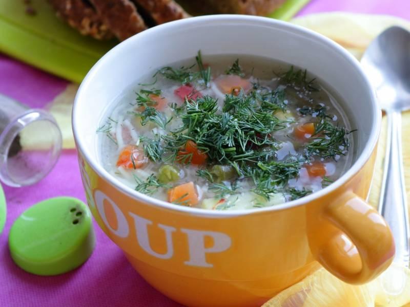"""Суп """"на скорую руку"""""""