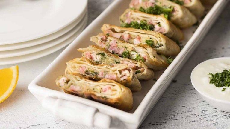 Пирожки из лаваша с картошкой: рецепты