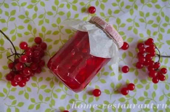 Как заготовить целебную ягоду калину с медом на зиму