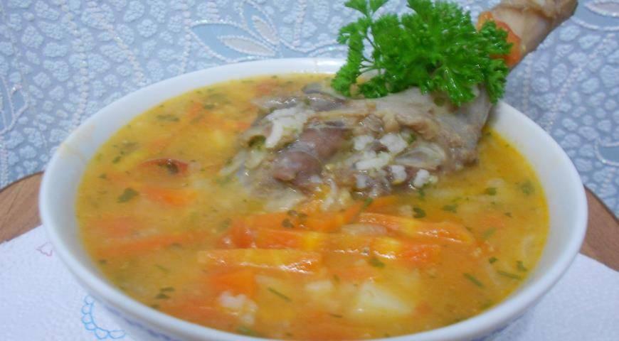 Как сварить вкусный суп из дикой утки?