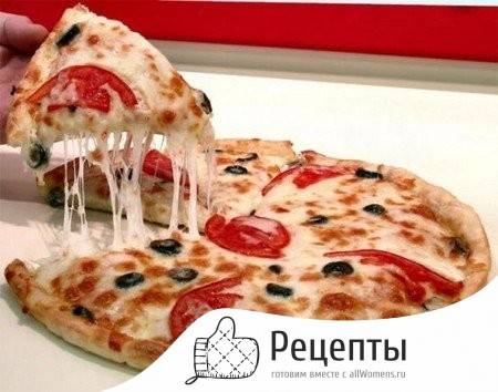 Самое простое тесто для пиццы