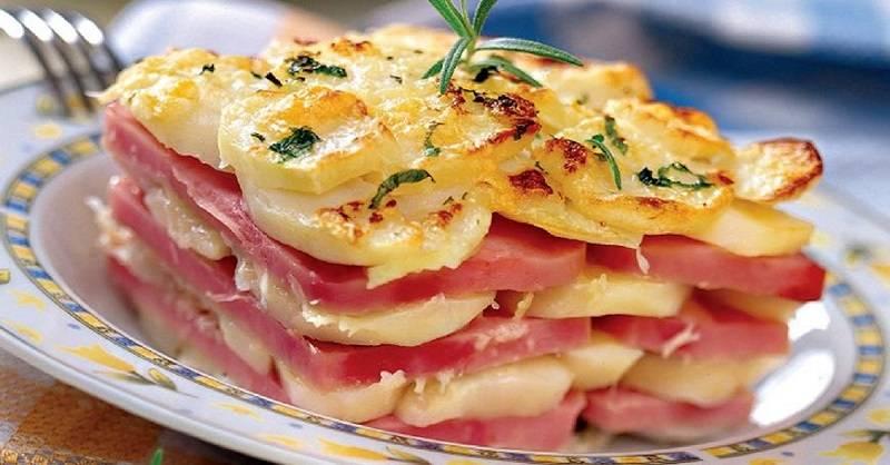 Рецепты картофельная запеканка с беконом