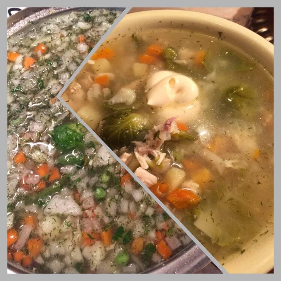 Суп с домашней лапшой – 15 рецептов приготовления