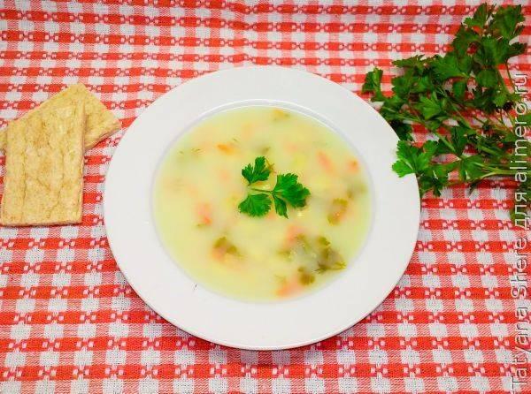 Чечевичный суп с сывороткой