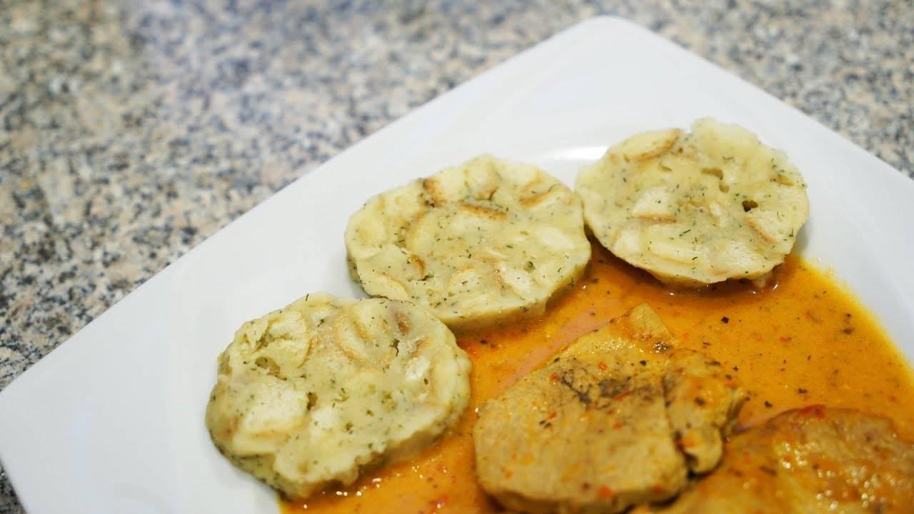 Пошаговый рецепт чешских картофельных кнедликов