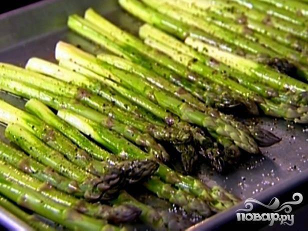 Как вкусно приготовить спаржу зеленую свежую
