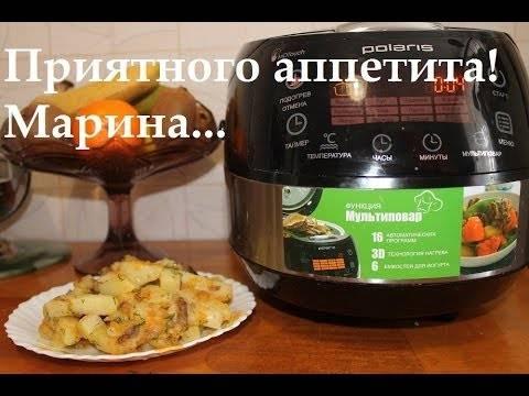 Тушеная картошка в мультиварке с капустой, свининой, говядиной, грибами и тушенкой