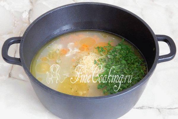 Куриный суп с овощами и спагетти — быстро и вкусно!