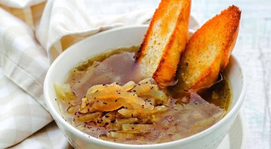 Крестьянский луковый суп