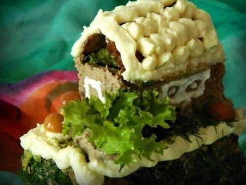 """Торт """"яблочная избушка"""" - пошаговый рецепт с фото на сайте банк поваров"""