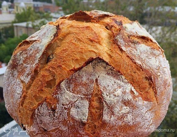 Хлеб с вялеными томатами и орехами