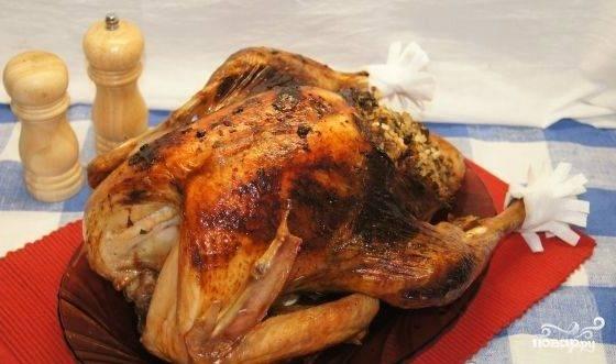Рецепты фаршированная индейка
